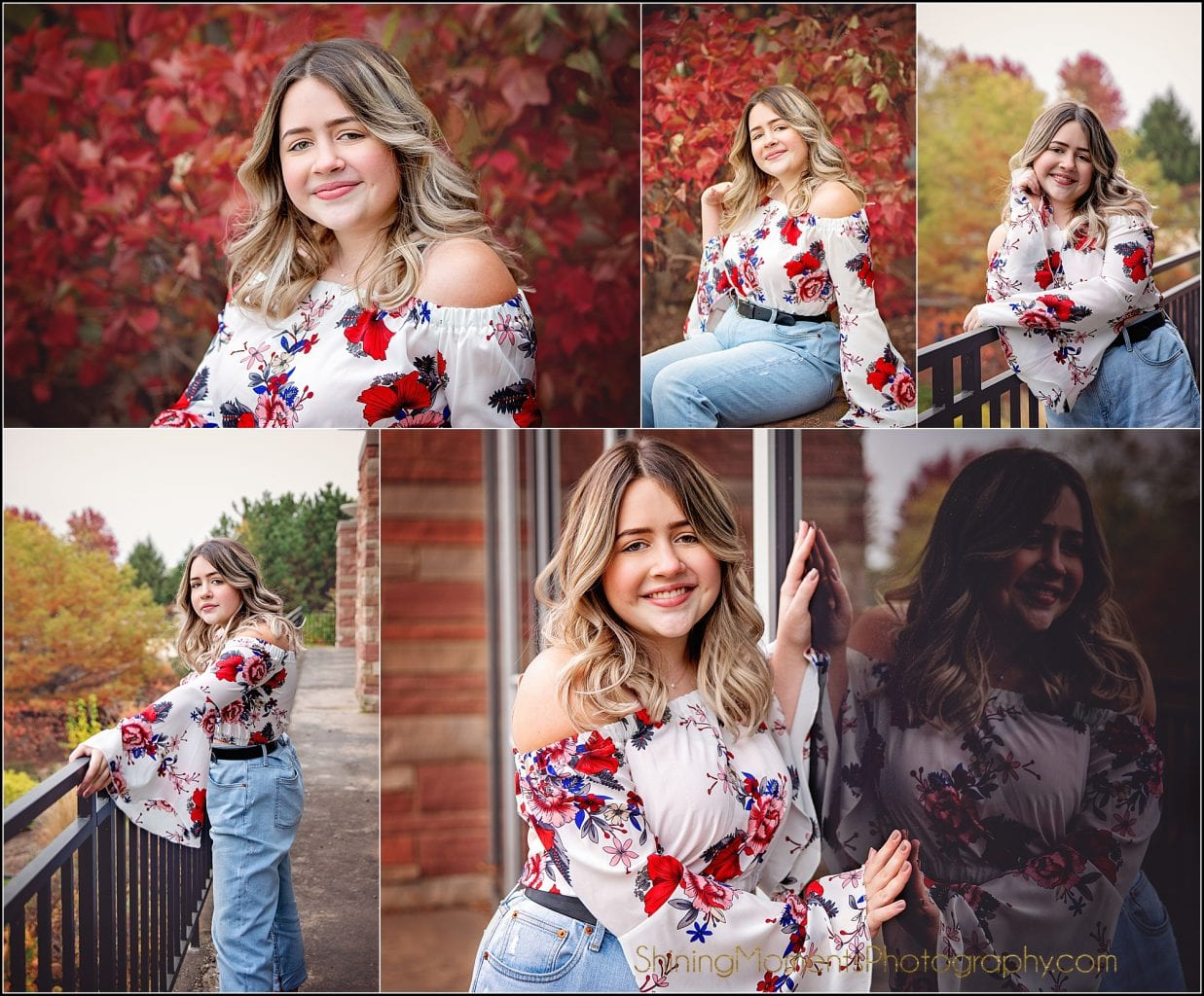 senior-pictures, fall-color, leaves