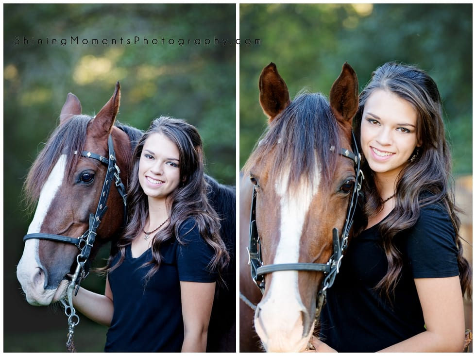 high-school-senior-photography, senior-photo, horses, Geneva-IL, equestrian