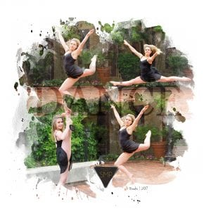 Geneva-illinois-photographer, dance-photography, collage-art, dance, senior-photographer