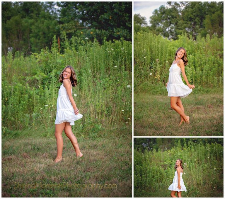 senior-photography, white-dress, clothes-shopping