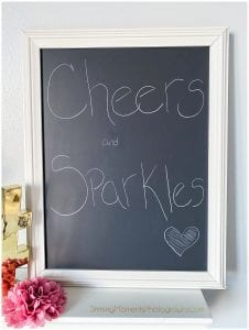 SMP-shine, Cheers-and-sparkle-sign