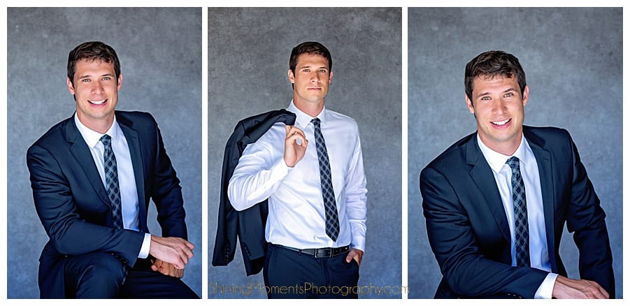 Headshots: Casual Vs. The Suit