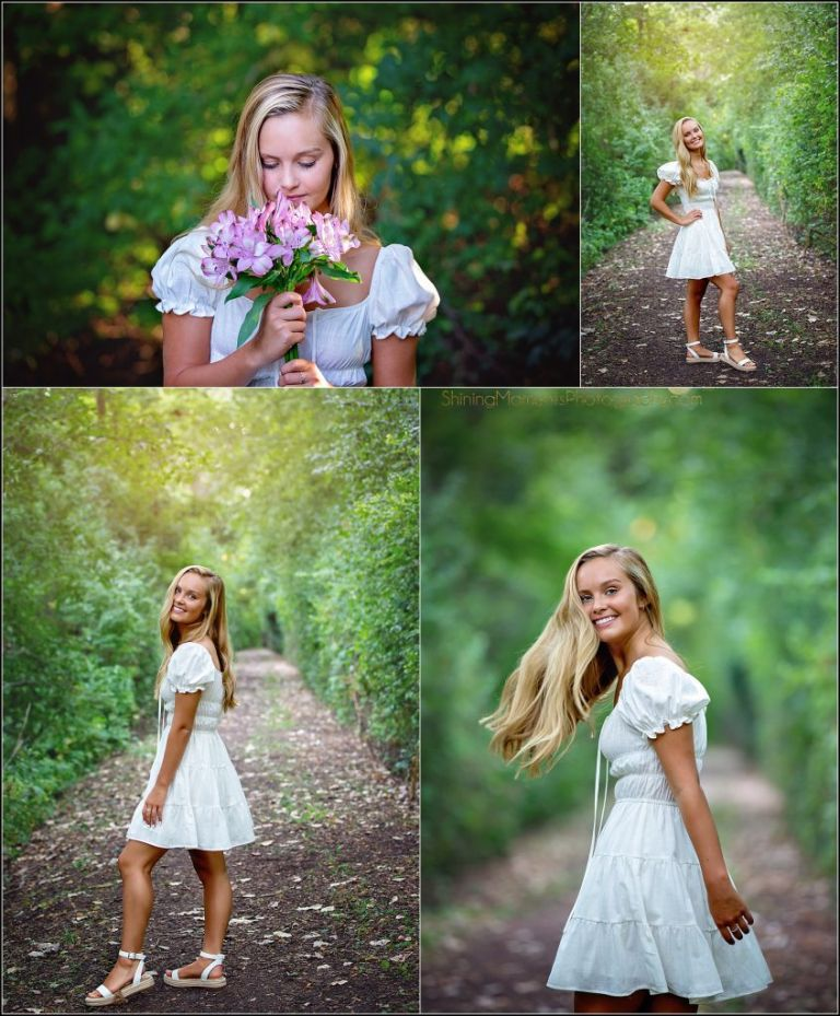 white-dress, senior-pictures, photography