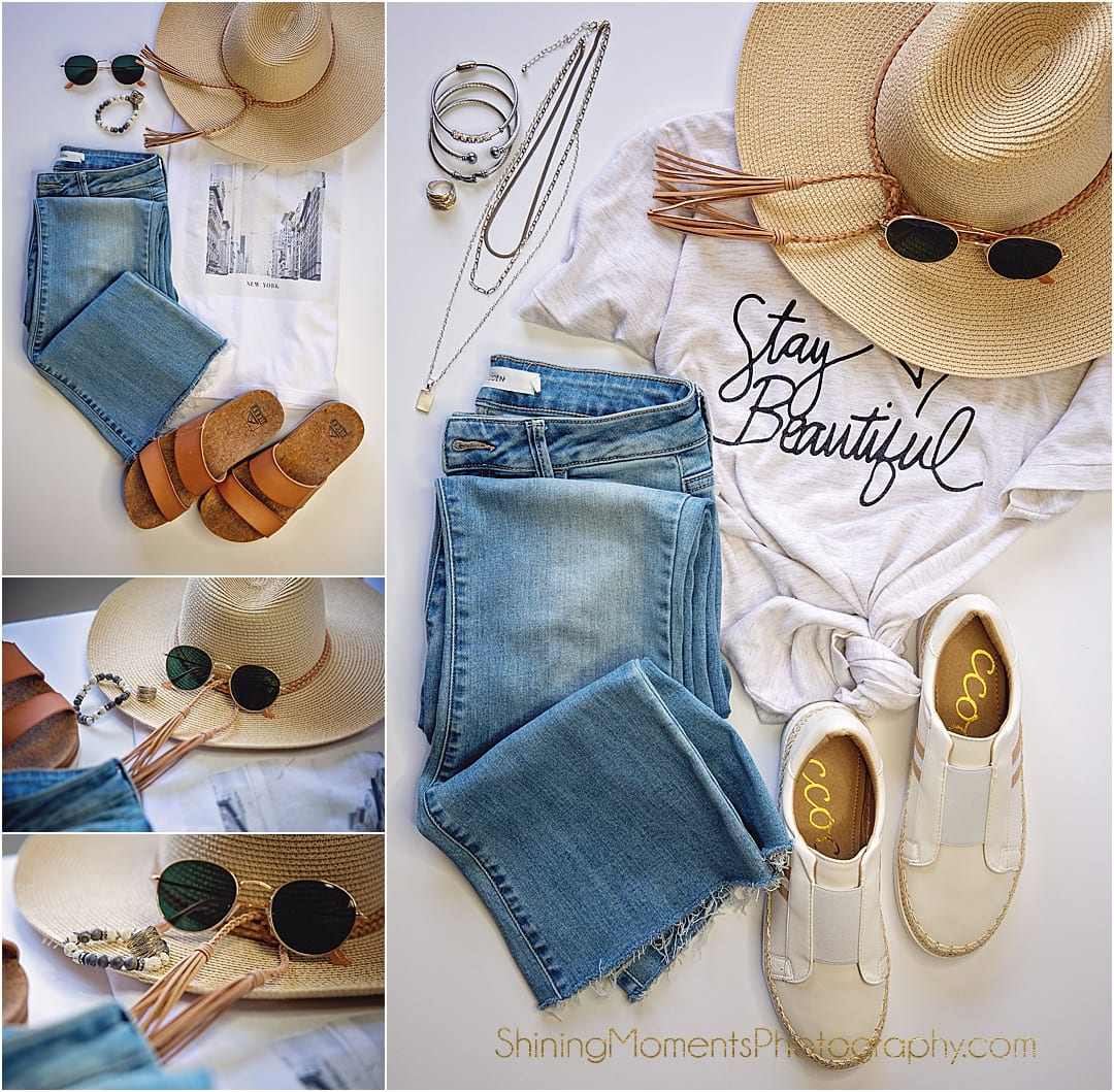 UOI, shoes, hat, sunglasses, spring style